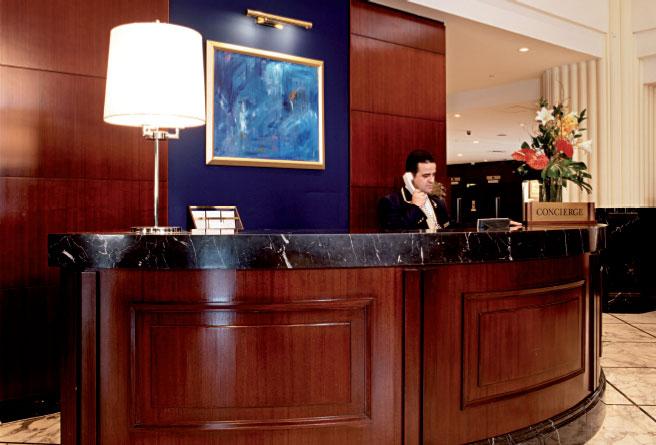 Le propre d'un hôtel de luxe