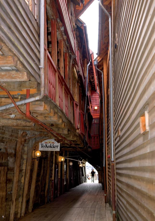 Bergen, réminiscence médiévale
