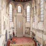 L'église sainte Anne, vestige du passé dédié à l'orga nisation d'événements.