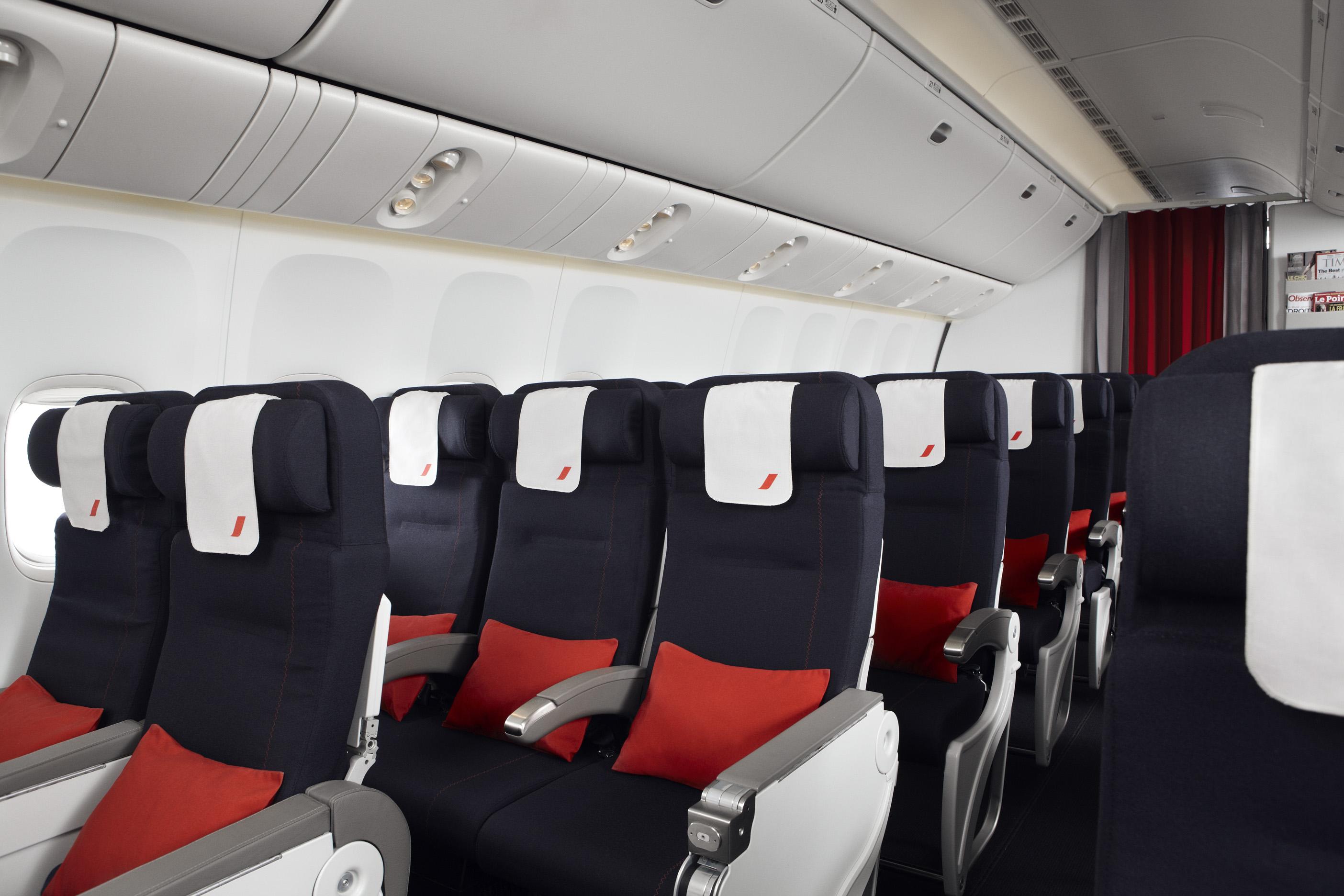 Air france priorit au service des clients for Air france interieur classe economique