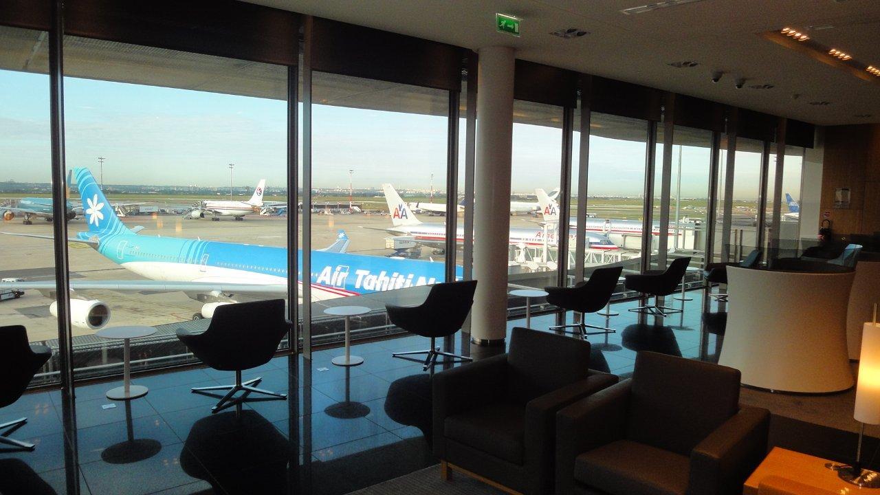 Air france lounge for 1ere classe salon