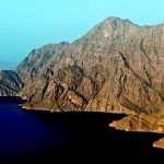 Paysage d'Oman, le Musandam
