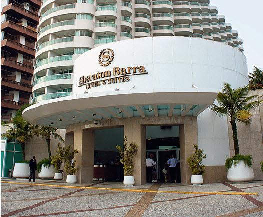 Sheraton Barra, seul réprésentant de l'hôtellerie d'affaires internationale.