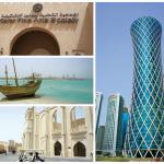 1- Le Qatar Fine Arts Society promeut les talents locaux et internationaux. 2- Regarder vers le passé n'est pas la marque de fabrique de Doha. 3- Katara, hub culturel, rassemble la plupart des lieux de spectacles. 4- La Tornado Tower, l'une des nouvelles icônes de la skyline de Doha.