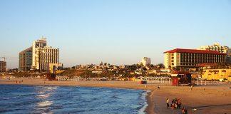 Tel Aviv, plage d'Herzliya