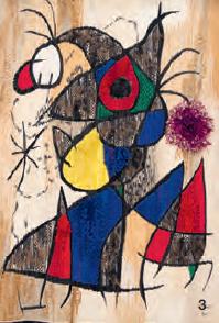 Peinture de Joan Miro