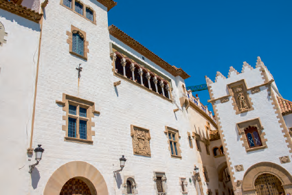 Le palais Maricel à Sitges
