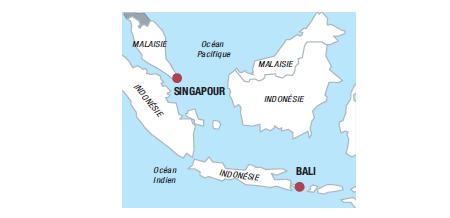 Guide pratique : Singapour - Bali