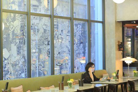 2 — Jakarta est marqué par un foisonnement de mini boutique hôtels chic et design comme le Kosenda.