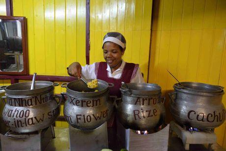 La cachupa, un plat national aussi consistant que délicieux.