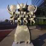 La Strabag Haus met à l'honneur les oeuvres du sculpteur Bruno Gironcoli.