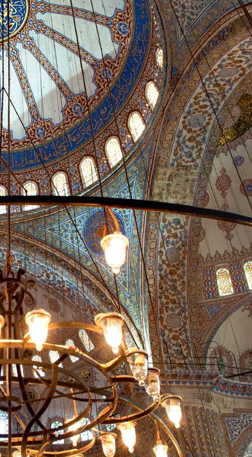 La mosquée bleue fait partie des incontournables d'Istanbul