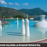 Equipements cinq étoiles au Kempinski Barbaros Bay.