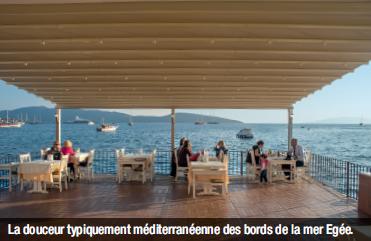 La douceur typiquement méditerranéenne des bords de la mer Egée.