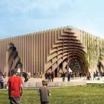 En parcourant ses allées, l'Expo universelle de Milan conduit à réféchir à un nouvel équilibre entre l'homme et la nature (au-dessus le pavillon français).
