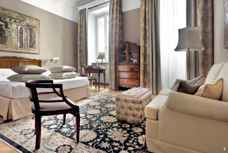 1 — Le Grand Hotel et de Milan a l'art de souligner les évidences. Son nom dit tout, que c'est un palace, celui que les plus grands musiciens de toutes les époques ont pris pour résidence, et qu'il a en lui cette touche de chic qui colle à la ville.