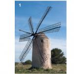 1 — À Formentera, ce moulin figurant sur la pochette de l'album More des Pink Floyd rappelle le temps où une nuée de Don Quichotte psychédéliques prenaient d'assaut une île où tout ou presque était permis.