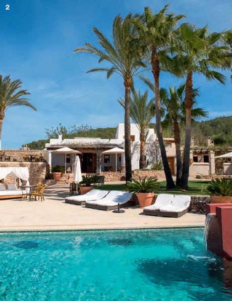 2 — Le calme après la tempête électro des plages d'Ibiza. C'est ce que propose le boutique hôtel Can Lluc, niché en pleine campagne.