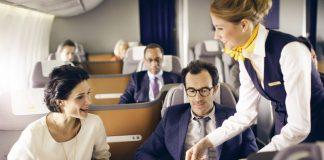 Lufthansa lance un nouveau service de restauration en classe affaires (DR)
