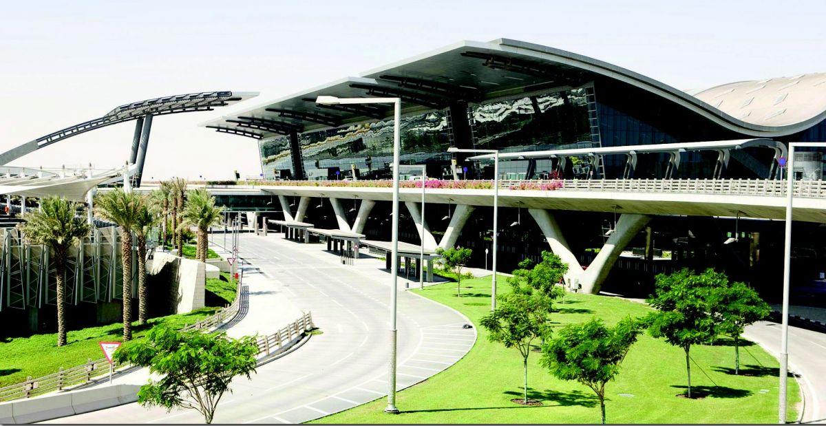L'aéroport de Doha (DR)