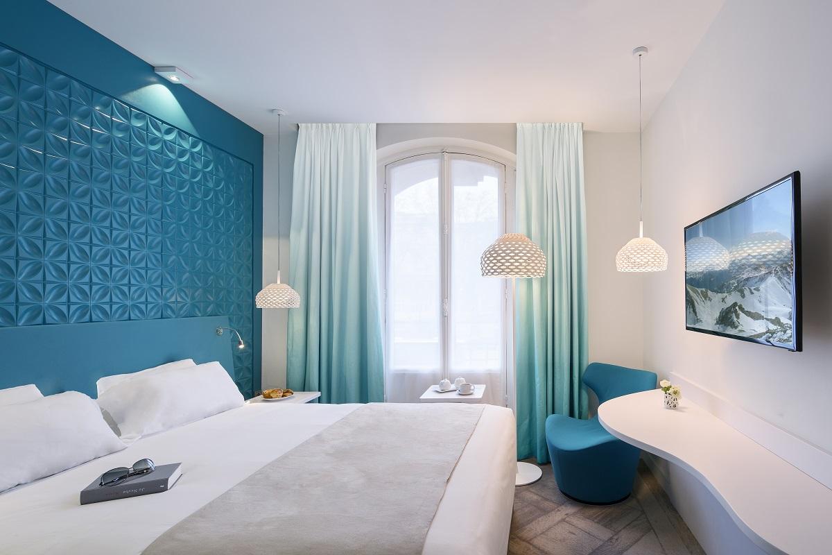 Une chambre de l'hôtel Holiday Inn Paris Gare de l'Est