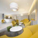 Le lobby de l'hôtel Holiday Inn Paris Gare de l'Est