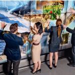 À Paris La Défense, le Châteauform'City le Cnit propose un mur tactile géant – le deuxième installé en France après celui du CNRS – pour des séances de travail interactives et créatives.