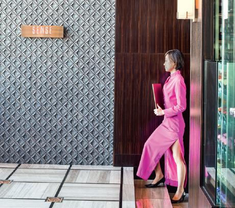 Le Mandarin Oriental, entre les sièges sociaux de Nihonbashi et les boutiques chics de Ginza.