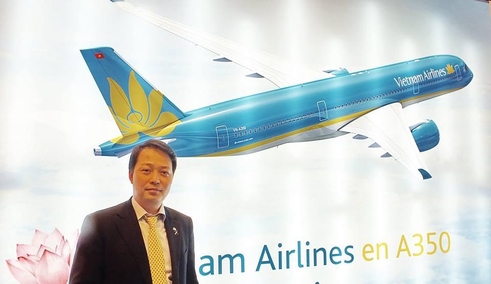 Nguyen Quoc Phuong, Directeur Général Vietnam Airlines Europe et France