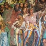 3 — Les peintres Signorelli et Sodoma ont couvert les murs de l'abbaye de Monte Oliveto Maggiore de scènes représentant la vie de St Benoit.