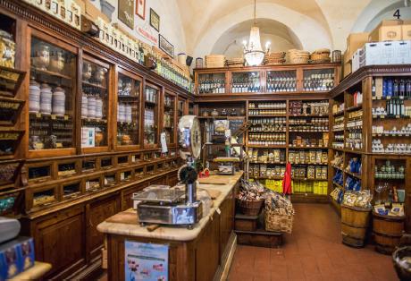 — L'Antica Drogheria Manganelli, institution de la ville où déguster le panforte.