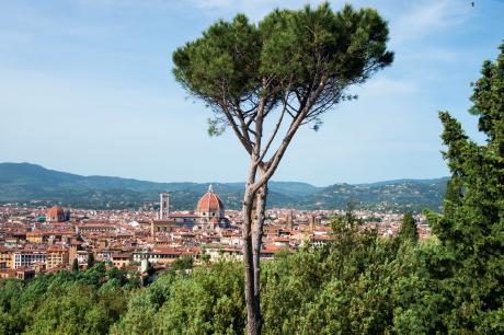 """1 — """"J'étais arrivé à ce point d'émotion où se rencontrent les sensations célestes données par les Beaux Arts et les sentiments passionnés"""". Stendhal, comme d'autres voyageurs, a été écrasé par la beauté de Florence au point de marcher """"avec la crainte de tomber"""". On dit de la ville qu'elle concentre un quart du patrimoine artistique d'Italie. Un pays qui n'est pourtant pas avare en splendeurs…"""