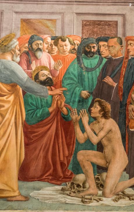 2 — Pour laisser le temps d'apprécier les fresques de Lippi et Masaccio, la chapelle Brancacci se visite par petits groupes.