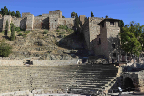 L'Alcazaba raconte la période de domination maure, quand la région s'appelait Al Andalus.