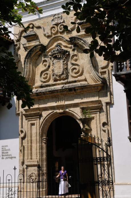 Une des plus belles façades baroques de la ville et derrière elle, tout un palais, celui de l'Inquisition, et sa collection d'instruments de torture raffinés.