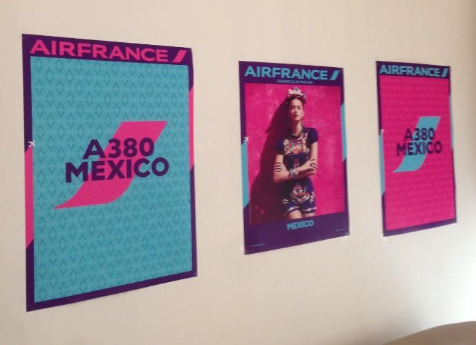 Air France rend hommage au Mexique à l'occasion de ce vol inaugural en A380