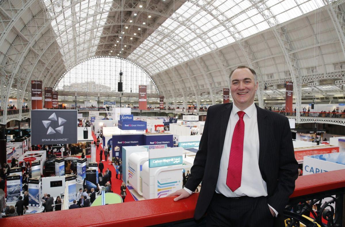 David Chapple, directeur du Business Travel Show
