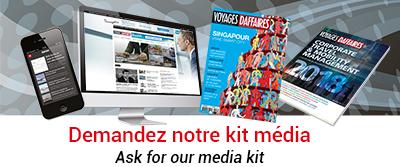 Demandez notre kit media - Ask for our media kit