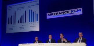 La direction d'Air France KLM a présenté jeudi son bilan 2015