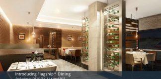 New York, Miami, Dallas et Los Angeles seront les premiers hubs a bénéficier du nouveau service Flagship Dining