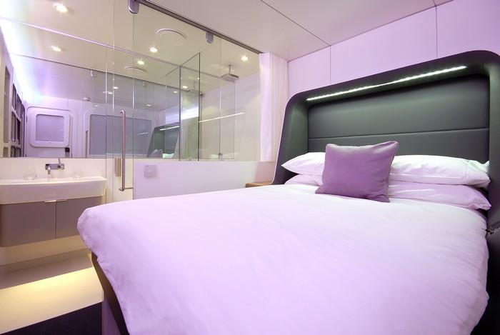 Le concept Yotel s'inspire des hôtels capsule à la Japonaise