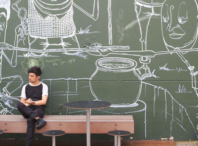 Coworking, art contemporain, start-up, high-tech : la ville de Sao Paulo mise sur sa jeunesse pour réussir sa mutation urbaine.