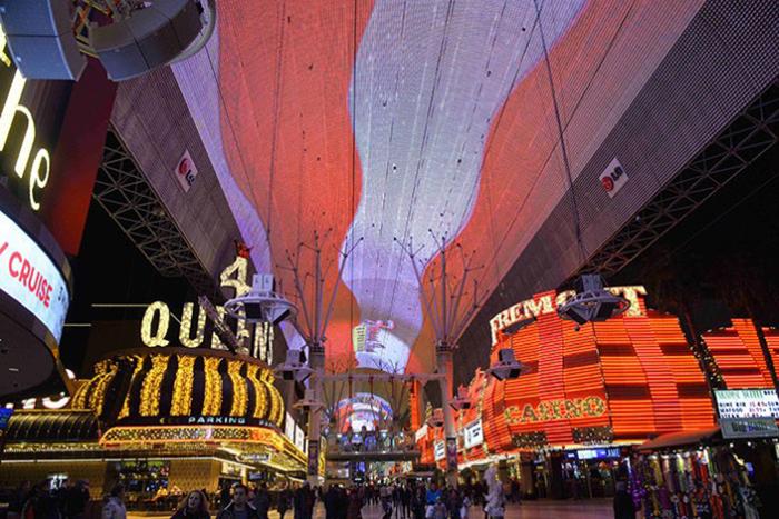 Las Vegas Viva vision