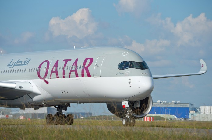 Airbus A350-900 de Qatar Airways