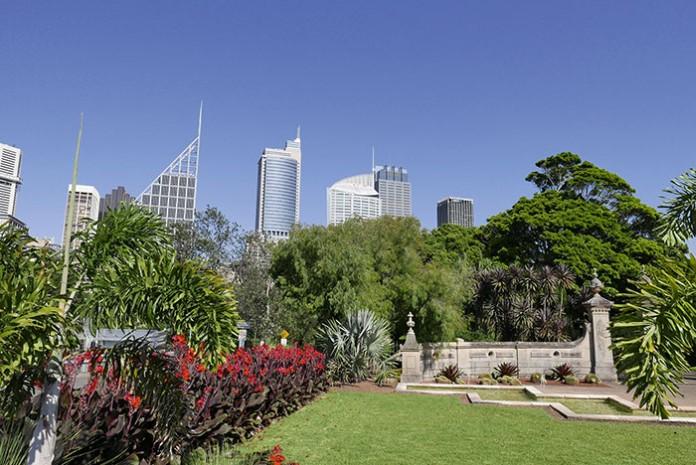 Jardin botanique d'Hyde Park