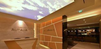 Les aéroports de Rome et Milan ont été choisis pour le lancement de ces nouveaux salons Alitalia
