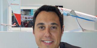 """""""Notre compagnie est toujours restée tournée vers les voyageurs d'affaires avec la volonté d'un haut niveau de service"""" : Benjamin Lanier, Austrian Airlines"""