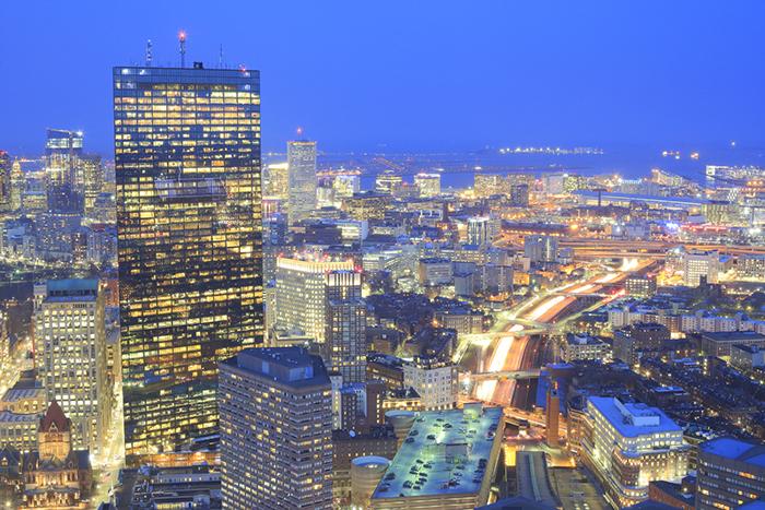Boston accueil JH Tower