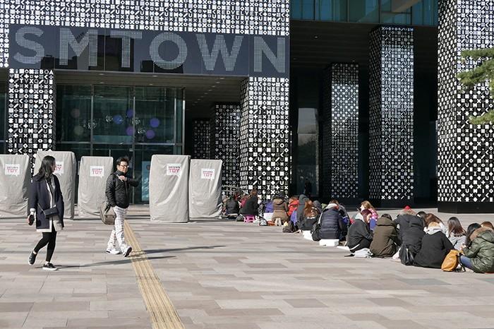 Le SM Town Studio, haut-lieu de la K-Pop