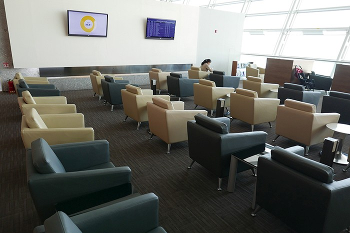 Lounge de Korean Air à l'aéroport d'Incheon